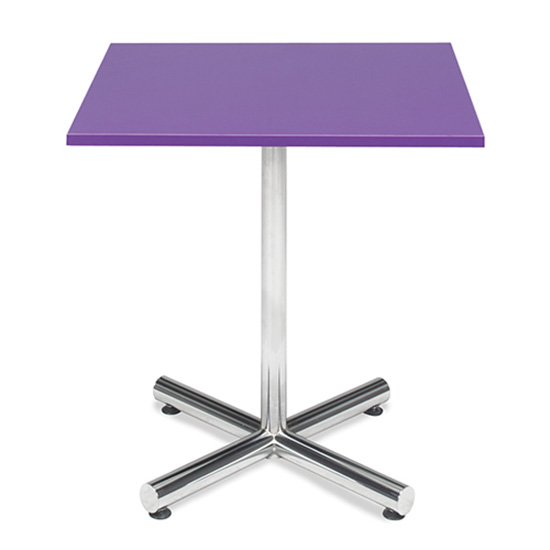 Spectrum Café Table - Purple